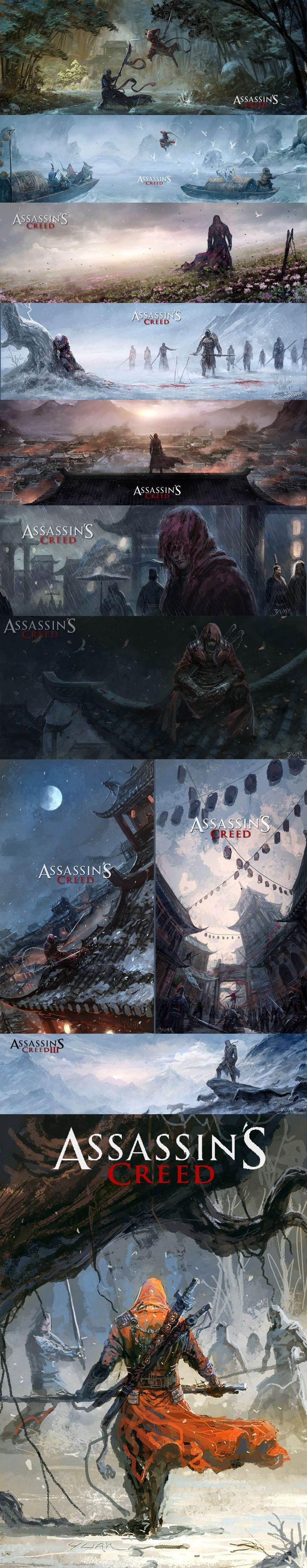 Assassin's Creed - Another Tale by ChaoyuanXu on deviantART
