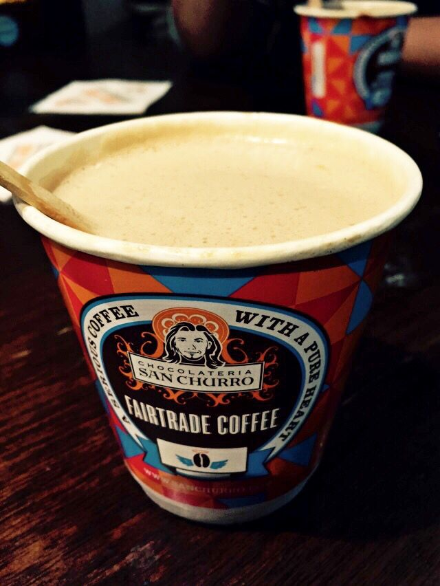 Hot Chocholate Peanut Butter Melt by San Churro  At Darlingside Harbour