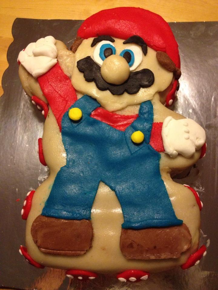 Mario cake, birthday boys request :)