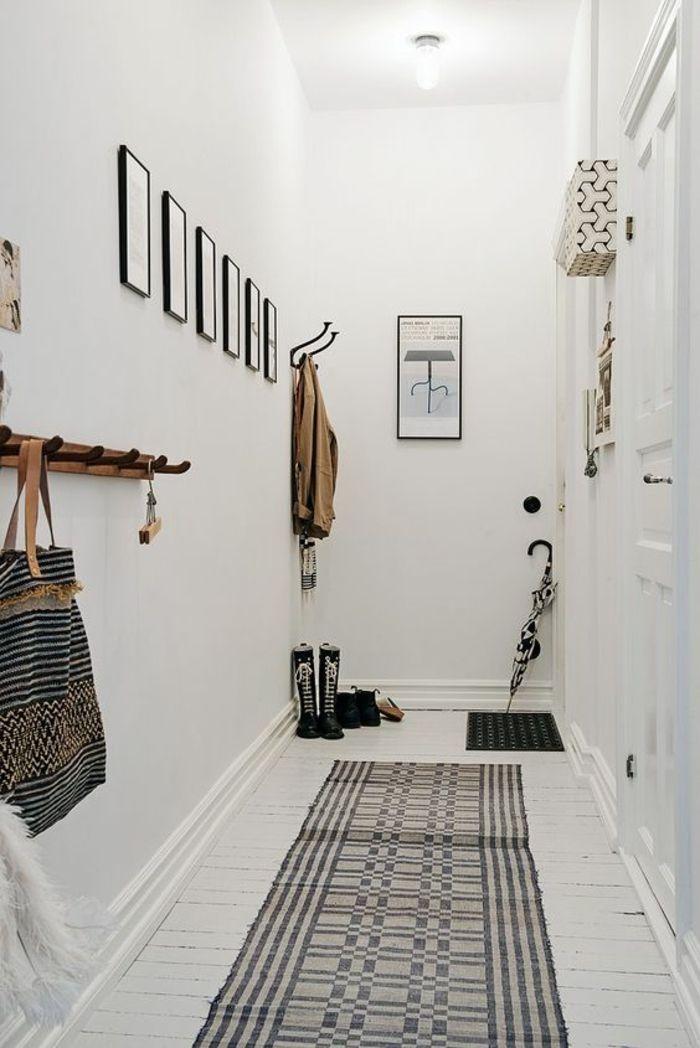 1001 Idees Pour Un Hall D Entree Maison Les Elements A Grand Effet Archzine Fr Petits Couloirs Deco Maison De Campagne Decoration Hall Entree