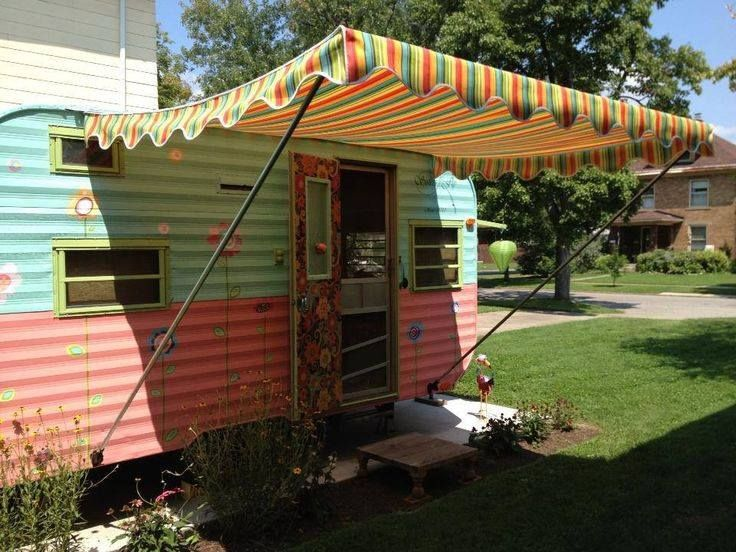 1000 Ideas About Camper Awnings On Pinterest Pop Up
