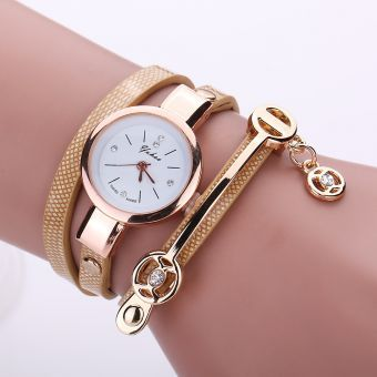 Reloj de los hombres del reloj de las mujeres de la PU Relojes