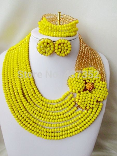 Find More Jewelry Sets Information about Splendid! opaque yellow champagne gold Crystal Beads Nigerian wedding african beads jewelry set costume jewelry set AAC113,High Quality jewelry making with resin,China jewelry velvet Suppliers, Cheap jewelry maze from Alisa's Jewelry DIY Store on Aliexpress.com