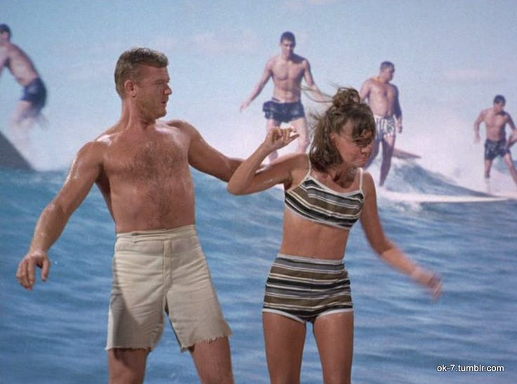 OK-7 Martin Milner and Sally Field in Gidget (1965)