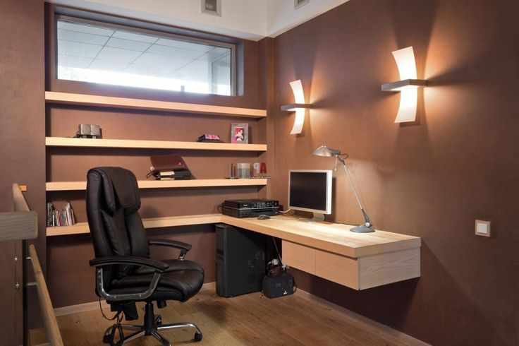 http://taizh.com/wp-content/uploads/2014/11/Small-study-room-design-with-brown-paint-wall-decor-as-well-wooden-table-and-elegant-swivel-chair-on-wooden-floor-also-lighting-ideas-on-the-wall.jpg