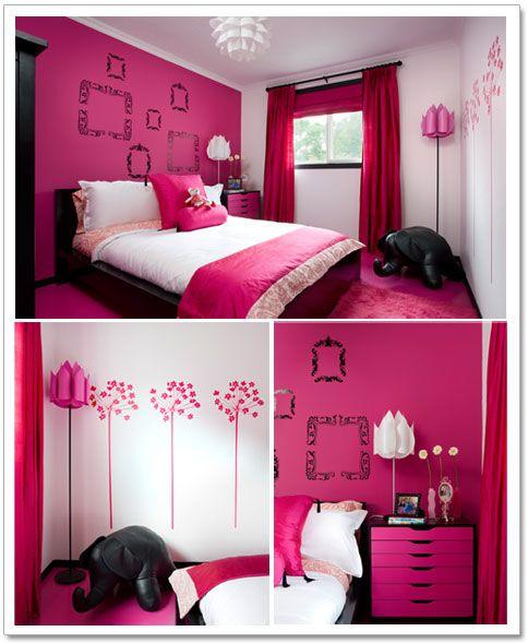 Black And Pink Bedroom Ideas Modern Toddler Boy Bedroom Tray Ceiling Bedroom Paint Bedroom Door Beads: Best 25+ Pink Black Bedrooms Ideas On Pinterest