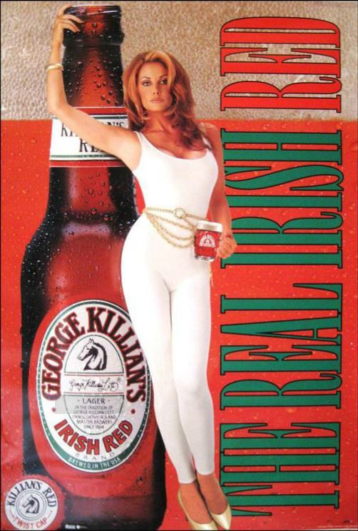 George Killian S Irish Red Poster The Real Irish Red