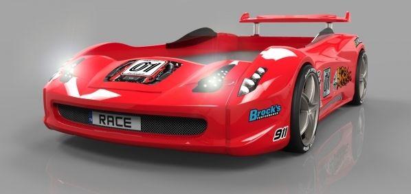 Rennwagenbett in rot vom Typ: Turbo