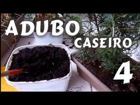 Adubo Caseiro fácil 4  Horta de temperos,  fácil de fazer - Dica Mi Pres...