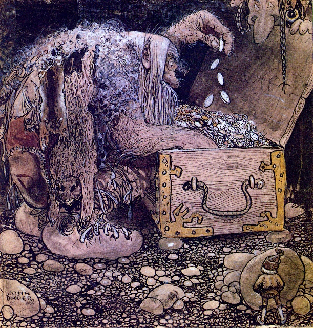 John Bauer, Swedish Folk Tales