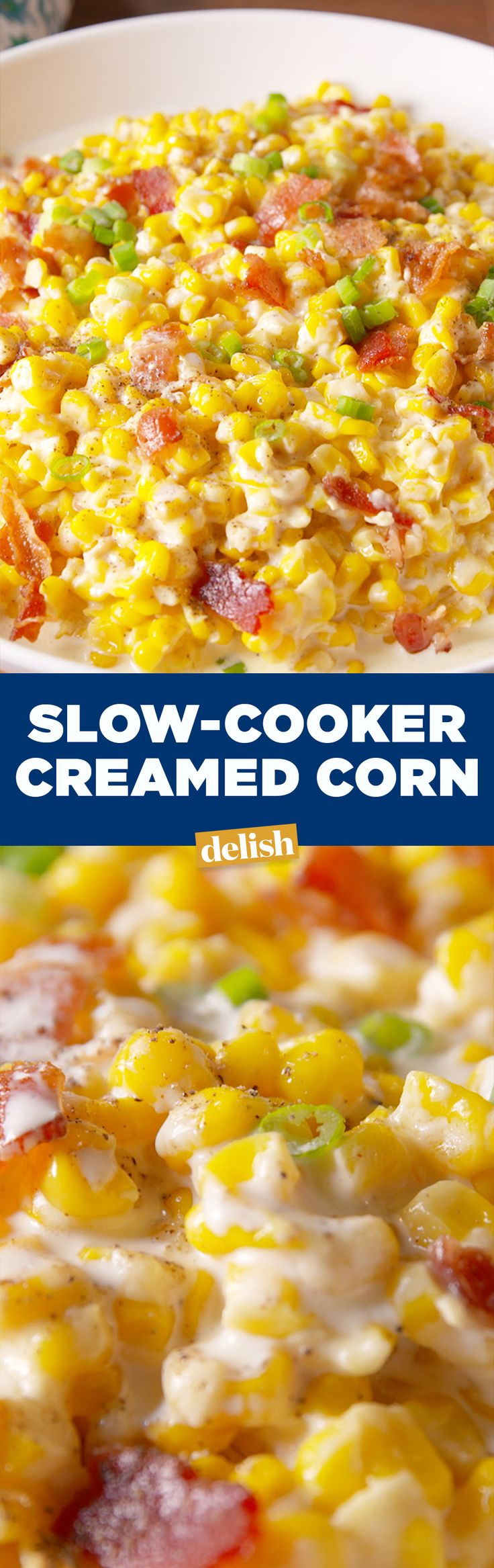 Slow-Cooker Creamed Corn is the Thanksgiving side that won't take up valuable oven space. Get the recipe on Delish.com.