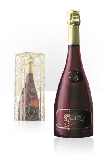 Cattier 'brut rose Red Kiss' champagne. PD