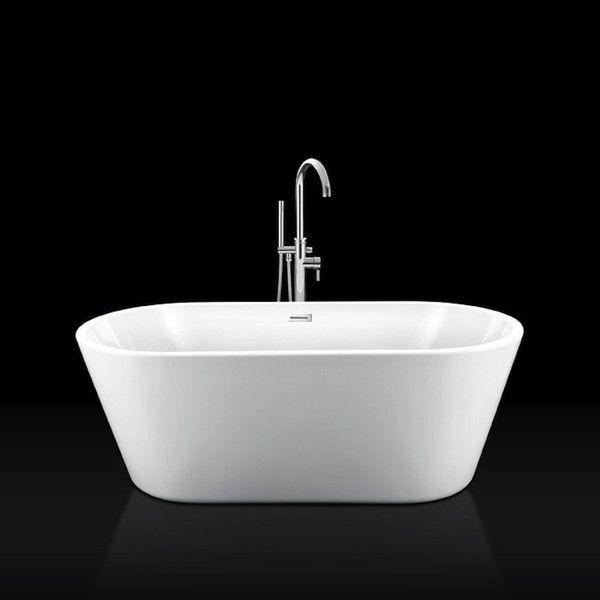 Bañera exenta acrílica NEW-YORK 170 cm, desagüe y sifón incluido - Entorno Baño  - 1