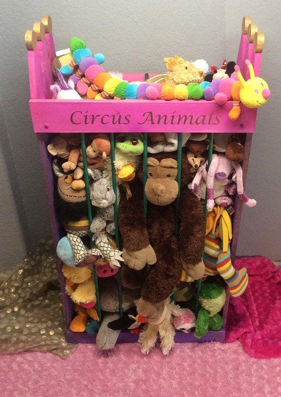 4ft Stuffed animal storage stuffed animal by TravelingElephants