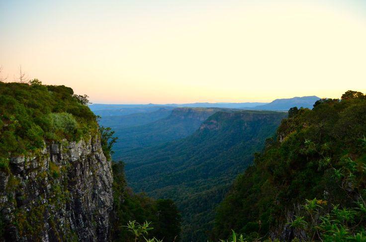 Looking Across God's Window in Mpumalanga, South Africa