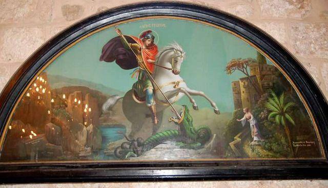 Sfantul Mucenic Gheorghe Biruitorul - St. George Victorious