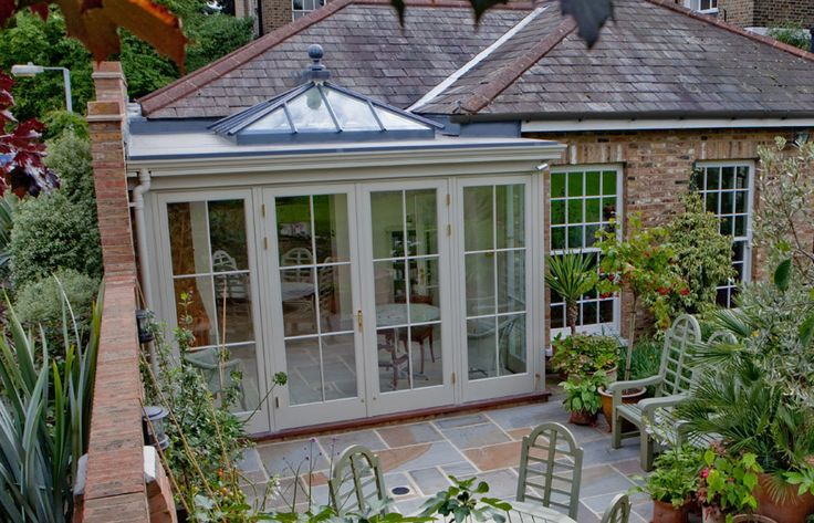 Westbury Garden Rooms, small timber orangerie
