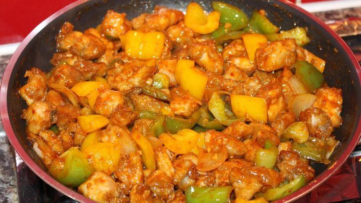 Awesome Chilli Chicken Recipe-How To Make Chilli Chicken-Know The Recipe