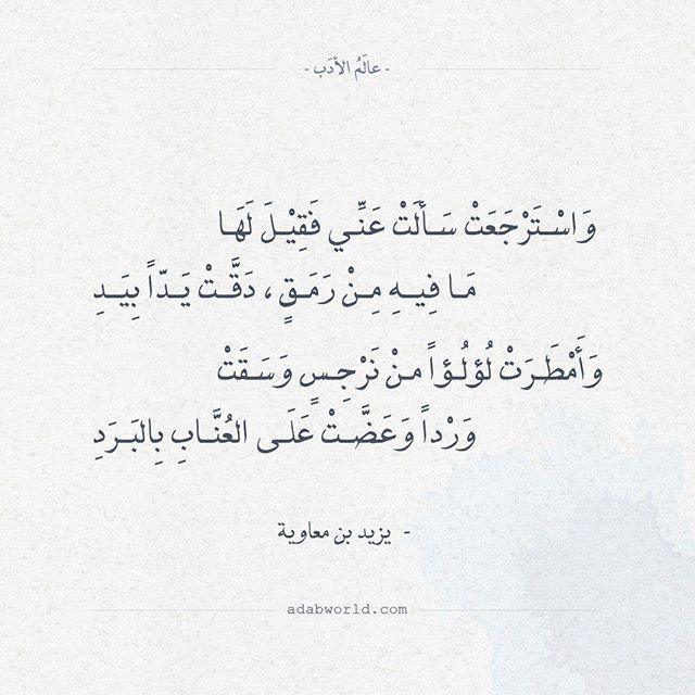 ابيات شعر عالم الأدب اقتباسات من الشعر العربي والأدب العالمي Book Quotes Beautiful Words Arabic Love Quotes