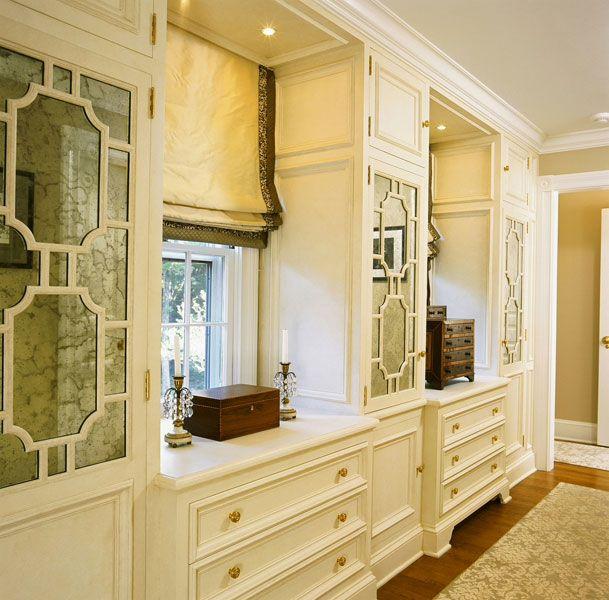 Walk in closet luxury Brooks  Falotico   Clapboard Colonial  