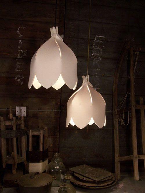 Lotus Folding Lampshade