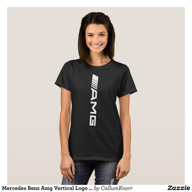Mercedes Benz Amg Vertical Logo Car Racing T-Shirt - Fashionable Women's Shirts By Creative Talented Graphic Designers - #shirts #tshirts #fashion #apparel #clothes #clothing #design #designer #fashiondesigner #style #trends #bargain #sale #shopping - Comfy casual and loose fitting long-sleeve heavyweight shirt is stylish and warm addition to anyone's wardrobe - This design is made from 6.0 oz pre-shrunk 100% cotton it wears well on anyone - The garment is double-needle stitched at the…