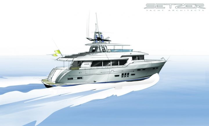 Logos Long Range | Setzer Yacht Architects