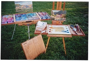 the easel pal: Artists Tools Supplies Stor, Artists Contact, Art Paintings, Easels Pals, Amigos Art, Artists Galleries, French Easels, Supplies Eye, Art Supplies