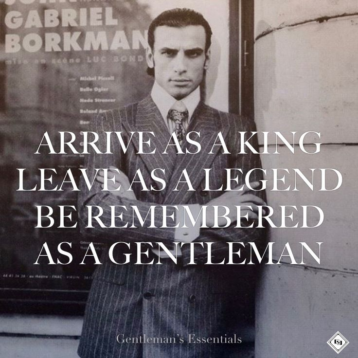 Gentleman Quote by Ato C. Yankah jr @Adnan Taletovic Picture by Karl Lagerfeld www.gentlemans-essentials.com