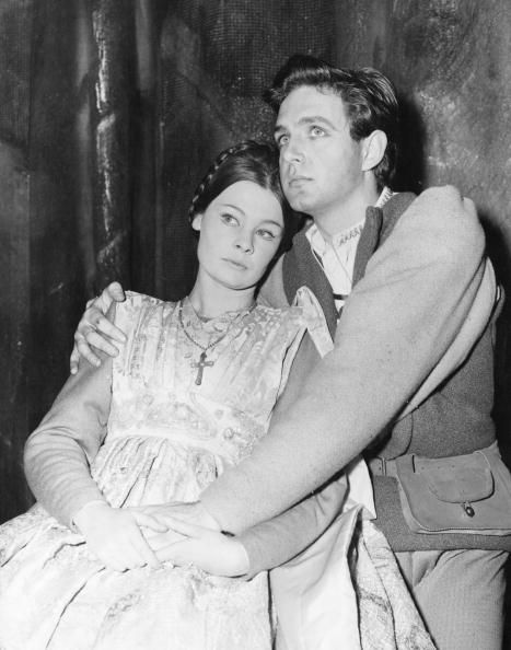 Judi Dench and Mark Stride in Shakespeare's Romeo and Juliet, 1960. JUDI DENCH IS MY FAVORITE ACTRESS!