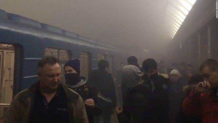 Eleven people were killed in a blast on the St. Petersburg metro on Monday, the Russian health ministry said, in what authorities described as a terrorist attack.