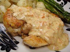 Recette WW pour ceux qui sont intéressés ! Ce poulet au boursin pourra être joliment accompagné de pâtes, de riz ou bien de pommes de terre, faites selon v