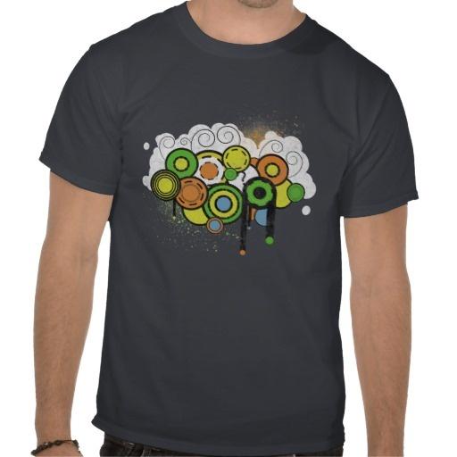 Trippy cloud tshirt
