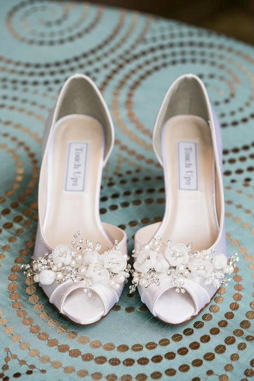 Wedding Shoes  Swarovski Crystals & Pearls  Bridal by Parisxox