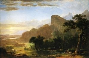 "Landscape--Scene from ""Thanatopsis""  Asher Brown Durand"