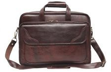 Comfort 15 inch Pure Leather Brown Laptop Bag for men and women unisex EL31