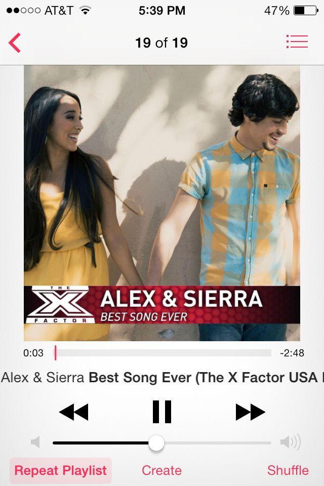 Alex and Sierra #xfactor