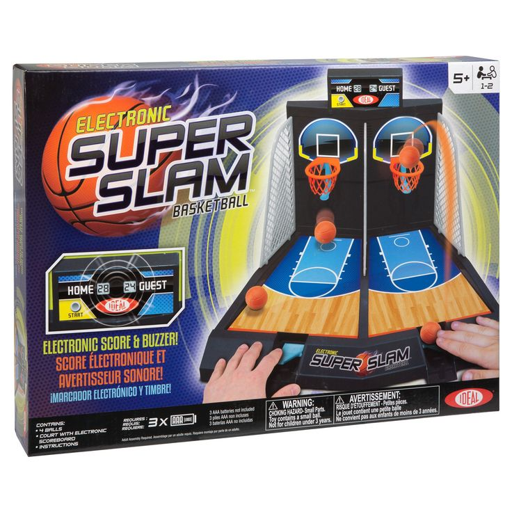 Ideal Electronic Basketball tabletop Game