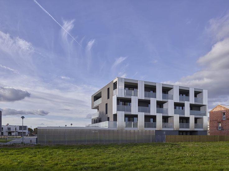 Le Trionnaire (x2) - Tassot - Le Chapelain _ a/LTA architectes · LES ROSELIERE