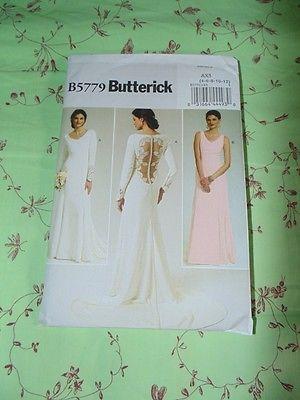 Schnittmuster Butterick B5779 4-12 Twilight Bellas Hochzeitskleid Twilight