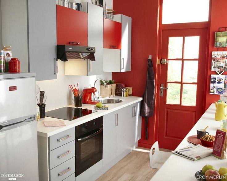 Les Meilleures Images Du Tableau Cuisine Sur Pinterest Chefs - Cuisiniere mixte rouge pour idees de deco de cuisine