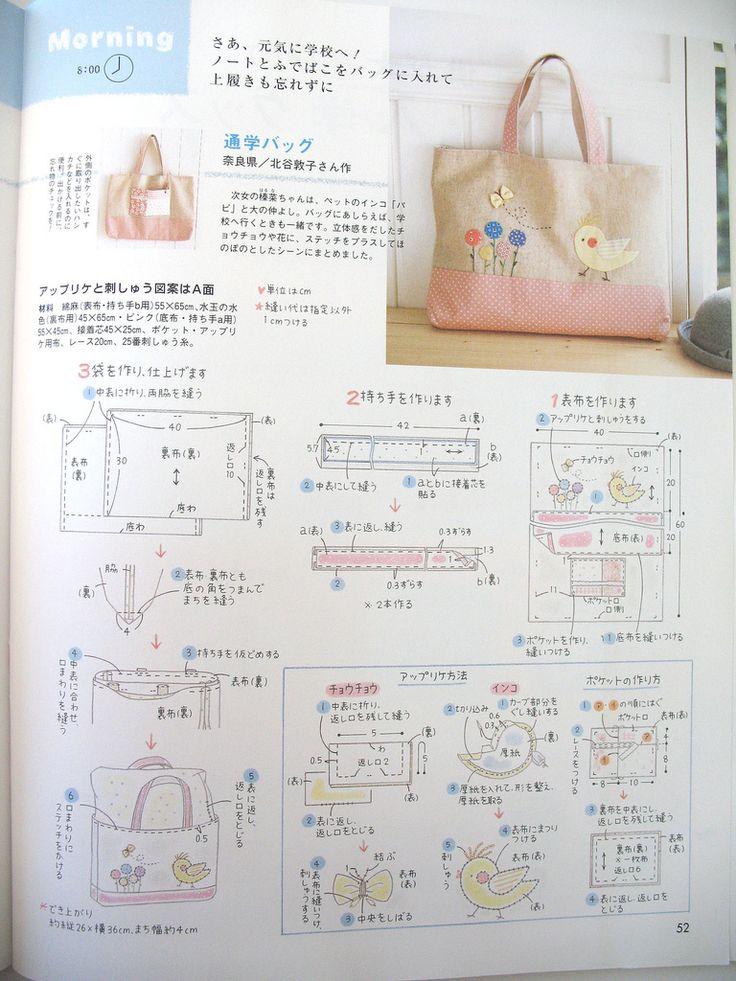 https://flic.kr/p/4zvDwW | Page 52 | A Kawaii Chickie purse, can't wait to sew this one. ASIN: B0012Q3CCE - - - - - - - - - - - - - - - - Una curiosita bolsita de pollitp, ya quiero coser esta.