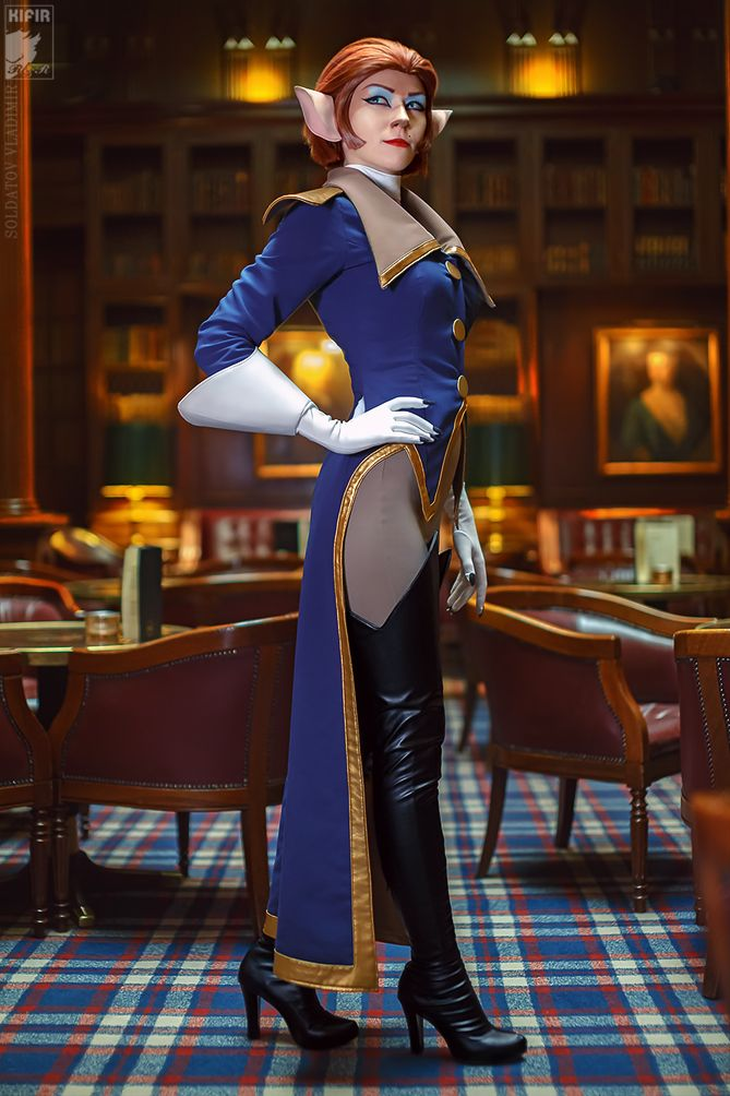 Captain Amelia from Treasure Planet
