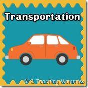 Transportation theme for preschool, expanded