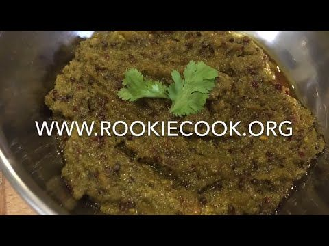 Chilli Garlic Relish - Rookie Cook