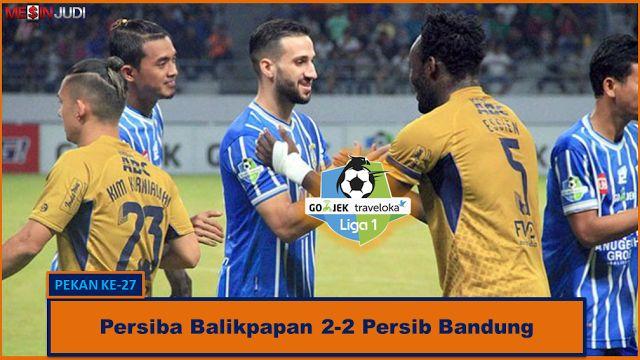 Persiba Balikpapan 2-2 Persib Bandung