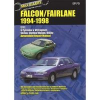 Ford Falcon/Fairlane EF & EL from 1994-1998 with MPN EP.F5
