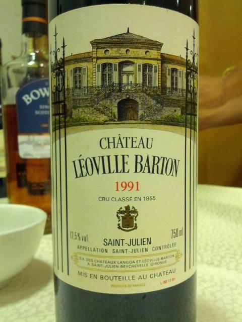 Chateau Leoville Barton 1991