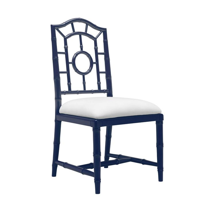 Solid Birch & Lacquer Finish Dining Chairs- Chloe Side ...