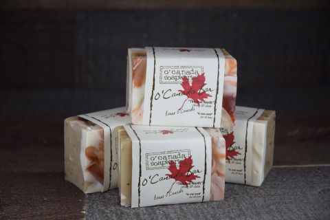 Juicy, red cranberries and Canadian cream make a rich soothing blend!